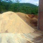 Sirovina za proizvodnju pelleta - piljevina bukve i oraha