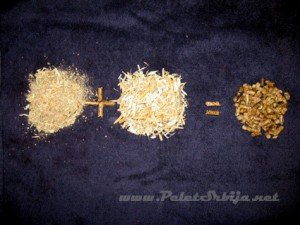 slika kvalitetan drveni pelet dobijamo od piljevine bukve i oraha...